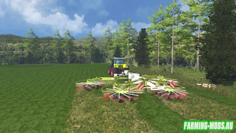 "Мод ""Claas Liner 4000"" для Farming Simulator 2015"