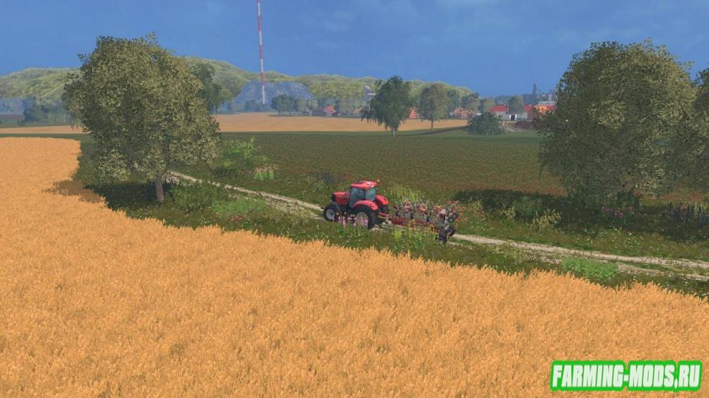 "Мод ""Карта Agro Farma 2015 CZ v 2"" для Farming Simulator 2015"