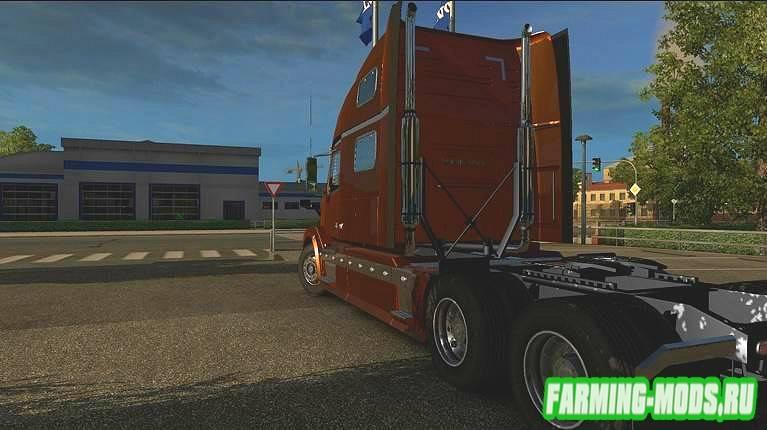 "Мод ""Volvo VNL 64 T 780"" для Euro Truck Simulator 2"