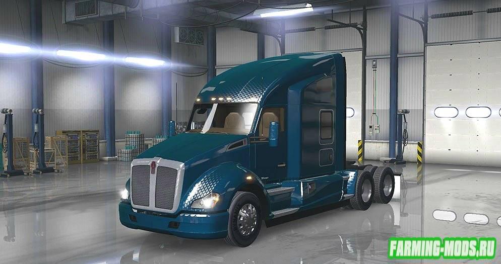 "Мод ""Metalic Paintjob Mod"" для American Truck Simulator"