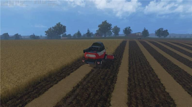 "Мод "" Карта Real Russia v1.2"" для Farming Simulator 2015"
