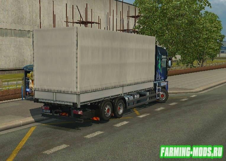 "Мод ""Renault Magnum  2.2.7"" для Euro Truck Simulator 2"