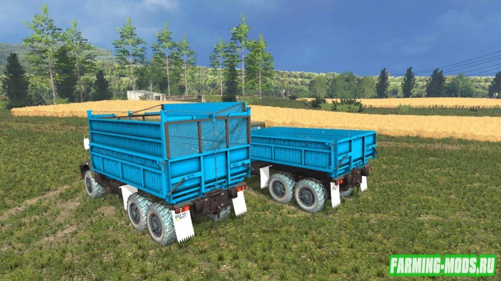 "Мод ""КрАЗ 18В-1Х Пак"" для Farming Simulator 2015"