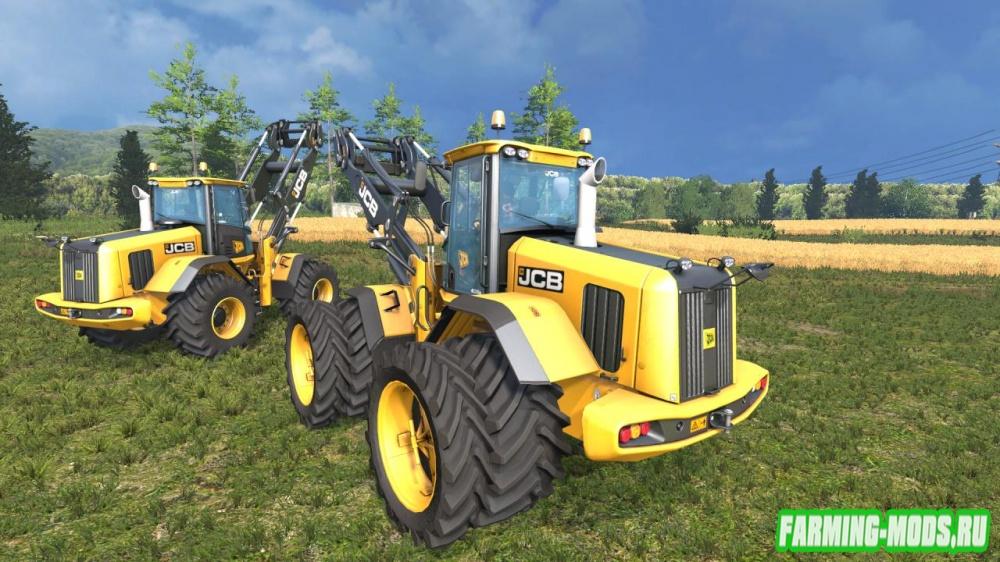"Мод ""JCB 435S Agri Edition v1.0"" для Farming Simulator 2015"