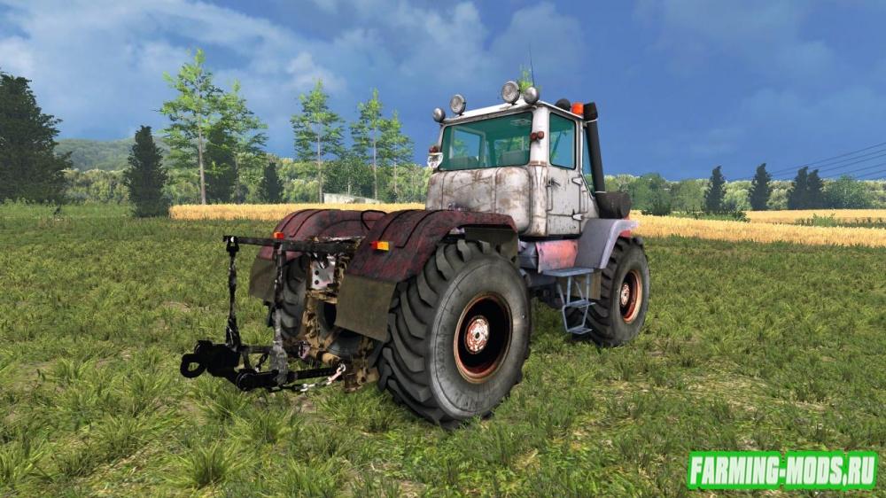 """Мод """"ХТЗ Т-150К Моющийся"""" для Farming Simulator 2015"""