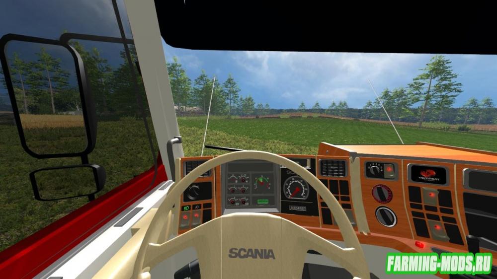 "Мод ""Scania 143 Frontal v1.0"" для Farming Simulator 2015"