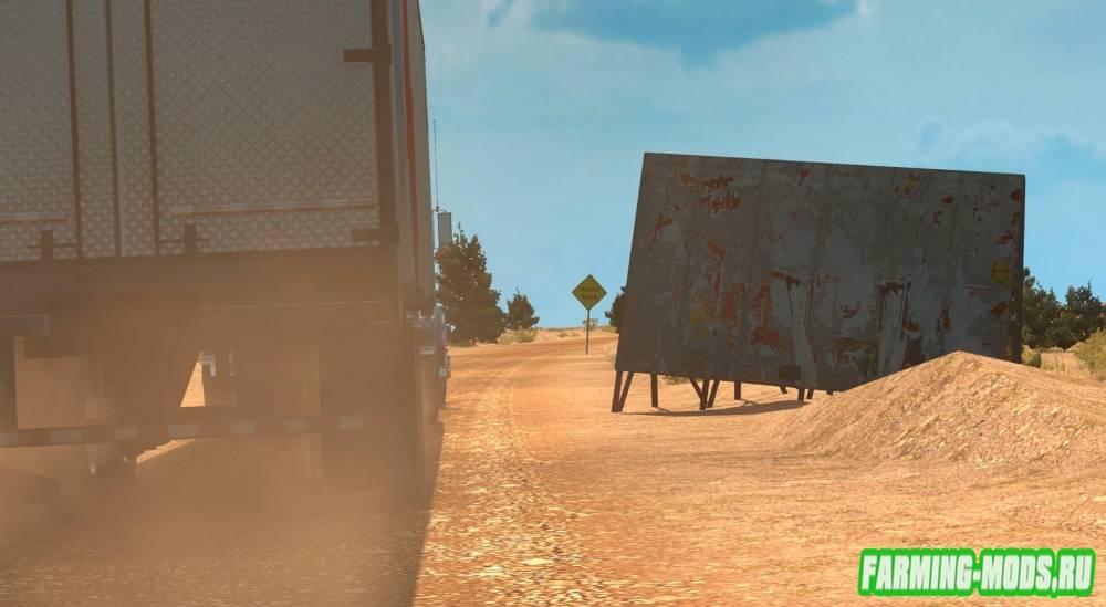 "Мод ""USA Offroad Map v1.0.0"" для American Truck Simulator"
