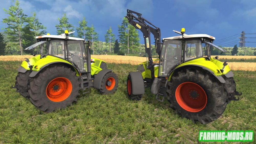 """Мод """"Claas Axion 830FL/850 v1.0"""" для Farming Simulator 2015"""