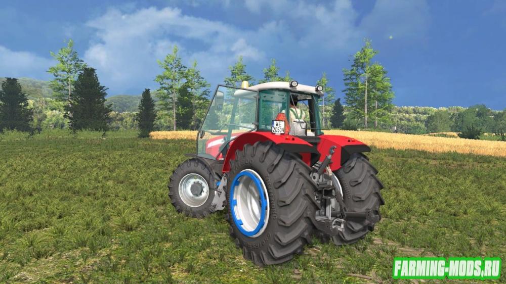 "Мод ""Massey Ferguson 5475 v1.0"" для Farming Simulator 2015"