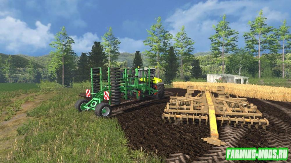 "Мод ""Great Plains Simba SL 500 v2.0"" для Farming Simulator 2015"