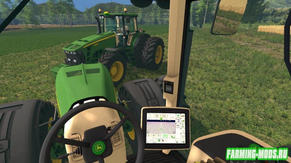 "Мод ""John Deere 8530 v4.0 European Dirt"" для Farming Simulator 2015"