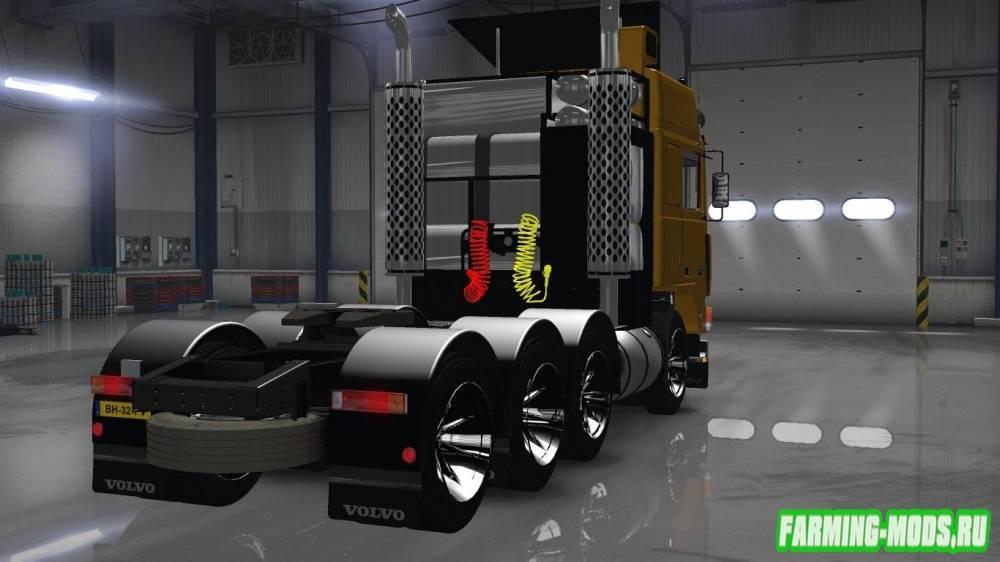 "Мод ""Volvo FH10 8X4"" для American Truck Simulator"