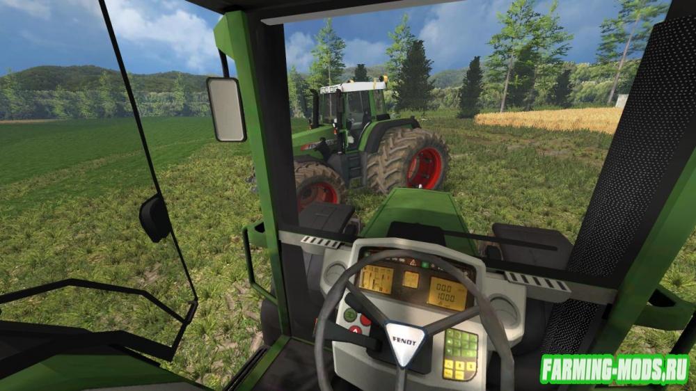 "Мод ""Fendt 820 Vario FL v2.0"" для Farming Simulator 2015"