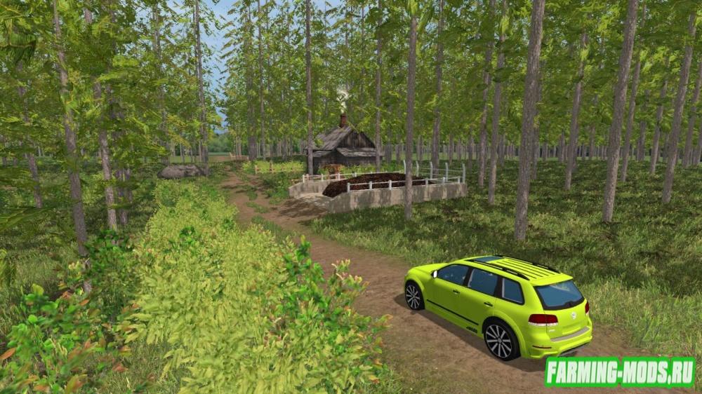 "Мод ""Карта Янова долина Хардкор v 2.4.3"" для Farming Simulator 2015"