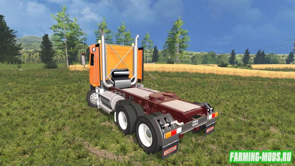 """Мод """"Freightliner Argosy Daycab"""" для Farming Simulator 2015"""
