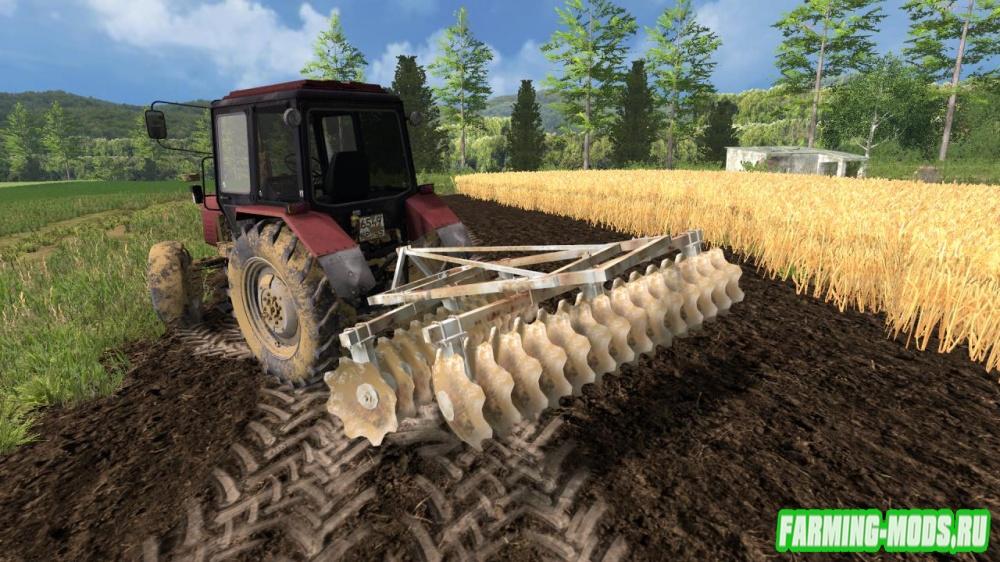 "Мод ""Talerzowka Bomet v1.0"" для Farming Simulator 2015"