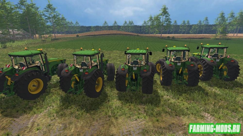 "Мод ""John Deere 8030 Pack Washable"" для Farming Simulator 2015"