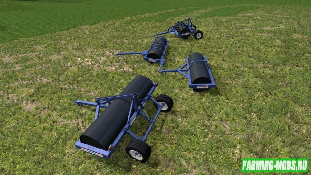 "Мод ""Watson Rollers Pack v2.0"" для Farming Simulator 2015"