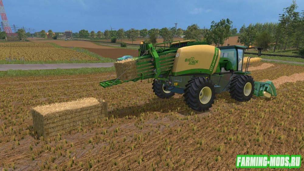 "Мод ""Krone Baler Prototype v 3.0"" для Farming Simulator 2015"