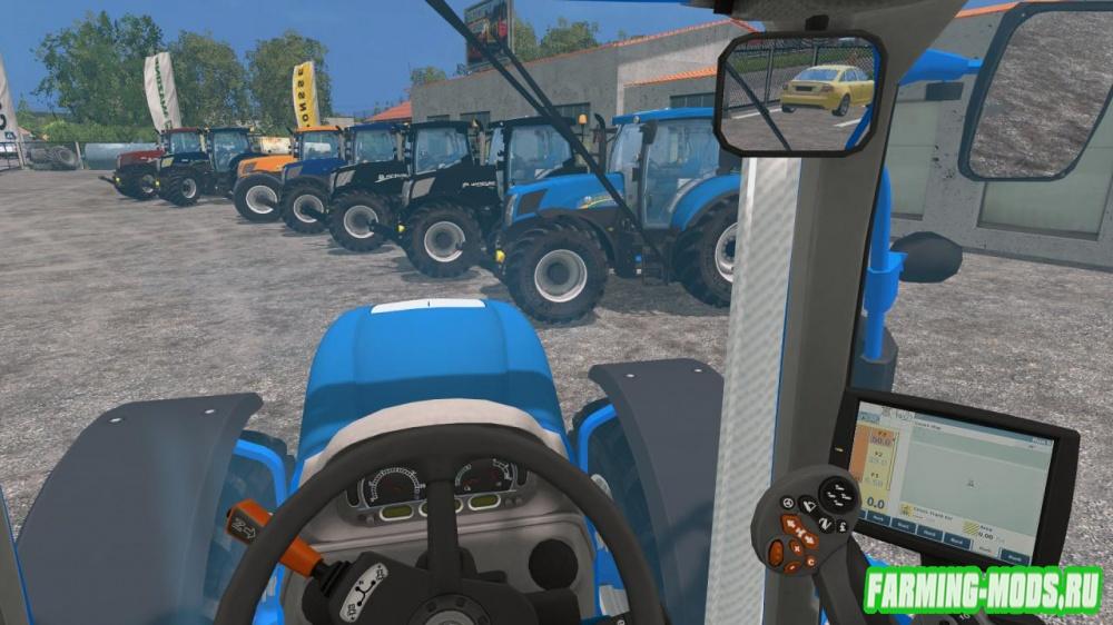 "Мод ""New Holland T7 Pack v1.2"" для Farming Simulator 2015"