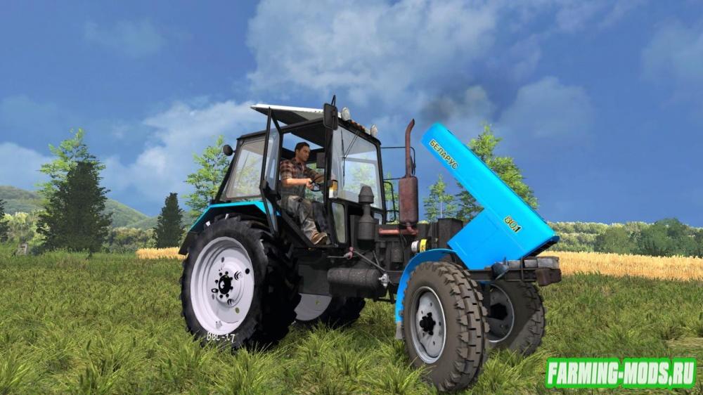 "Мод ""МТЗ 80.1 Беларус"" для Farming Simulator 2015"