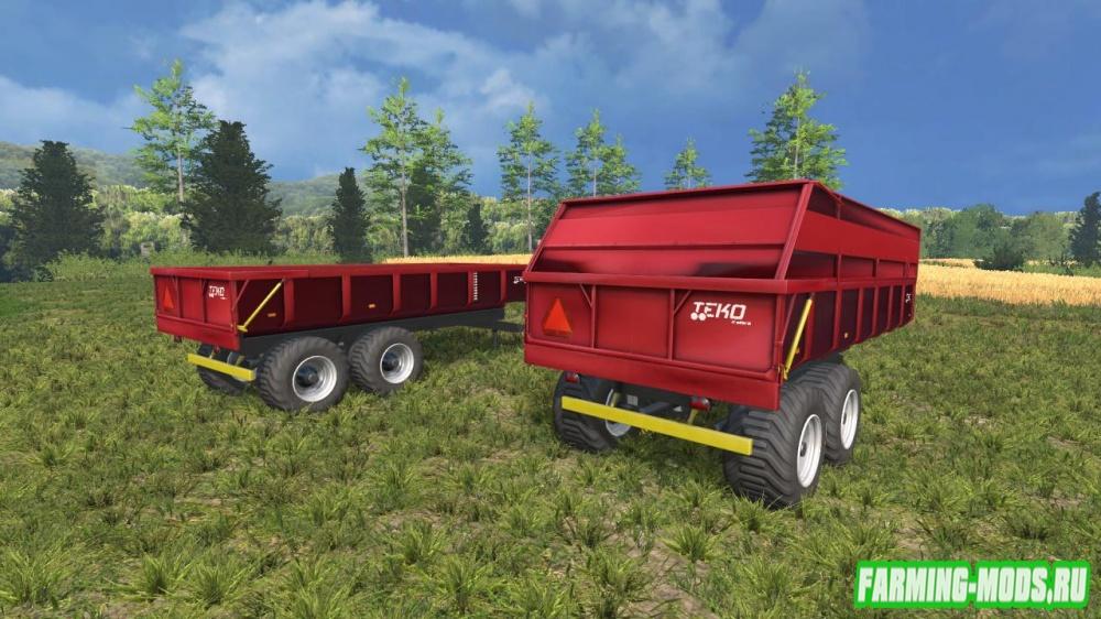 "Мод ""Teko 15T v1.0"" для Farming Simulator 2015"