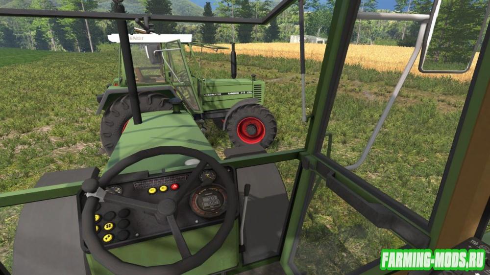 "Мод ""Fendt Farmer 310 312 LSA v3.0"" для Farming Simulator 2015"