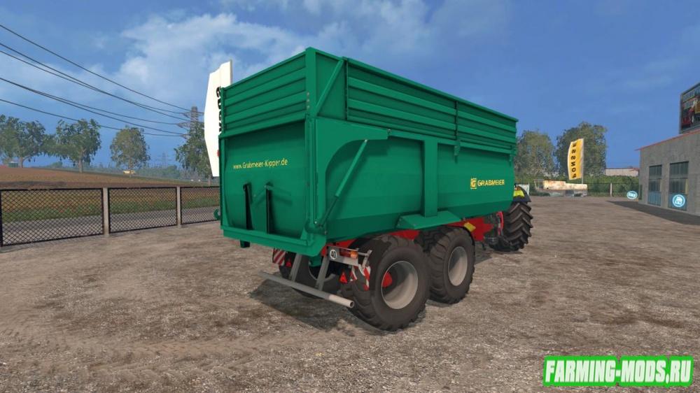 "Мод ""Grave Meier dumpers v1.0"" для Farming Simulator 2015"