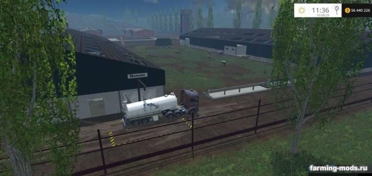 "Мод ""Карта Килия"" для Farming Simulator 2015"