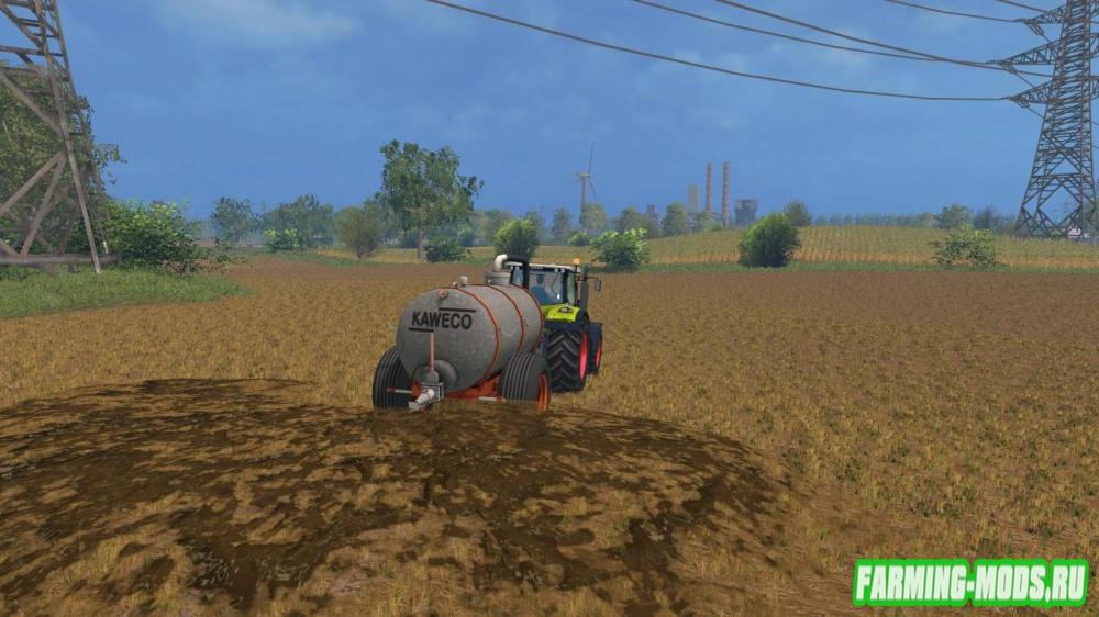 "Мод ""Kaweco 6 kuubs tank"" для Farming Simulator 2015"