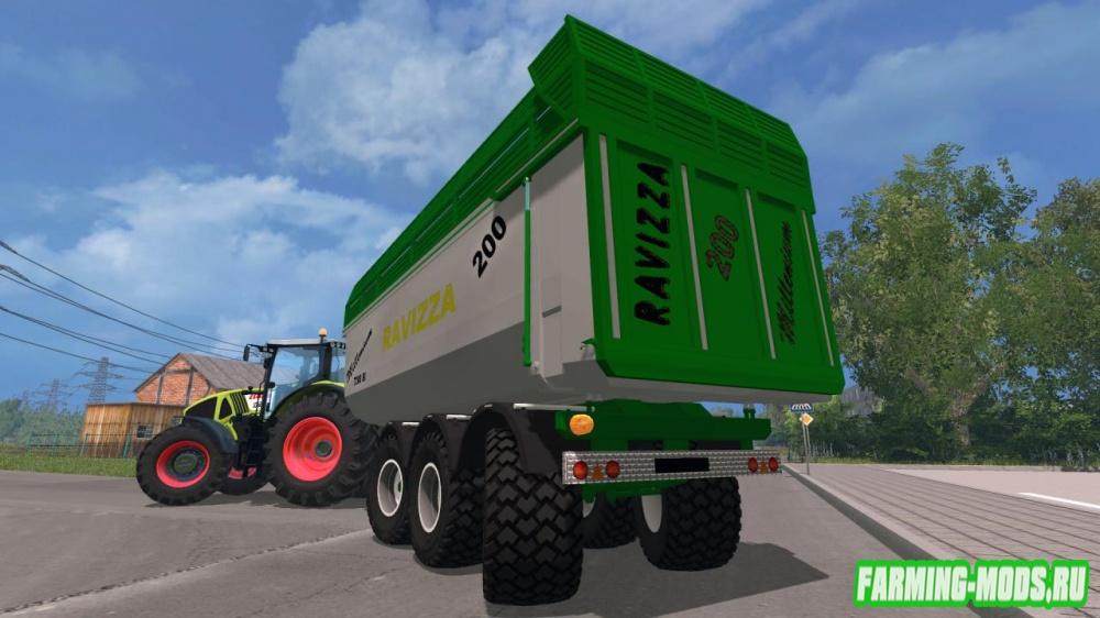 "Мод ""Ravizza Millenium 7200 livrea JD0"" для Farming Simulator 2015"