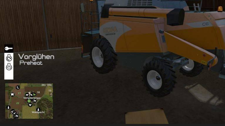 """Мод """"Скрипт Ручное зажигание v 4.1.2"""" для Farming Simulator 2015"""