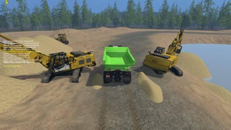 "Мод ""Карта Nordfriesische Marsch v 2.1 Fix"" для Farming Simulator 2015"