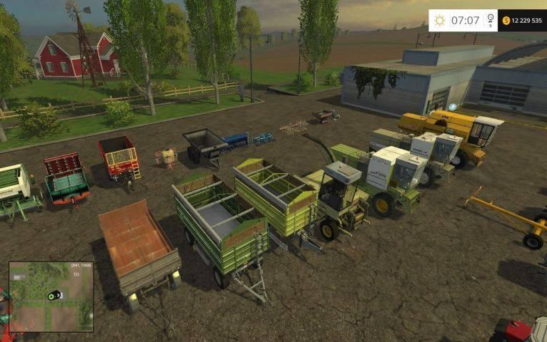 """Мод """"Польский Modpack весь сезон v 3"""" для Farming Simulator 2015"""