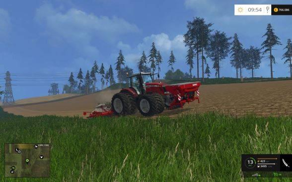 "Мод ""KVERNELAND NG S 601 F35 v 1.0"" для Farming Simulator 2015"