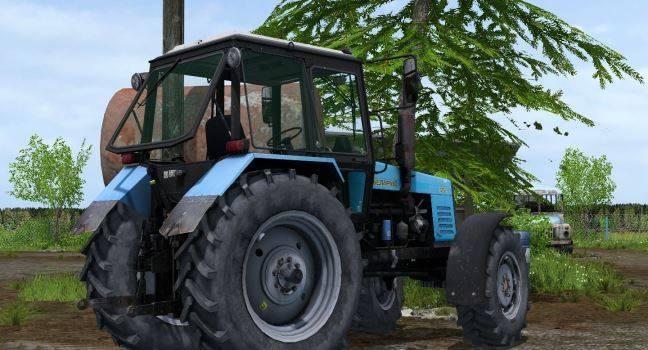 "Мод ""МТЗ 1221"" для Farming Simulator 2015"