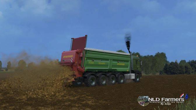 """Мод """"MAN TSG 10x8 manure v 1.2"""" для Farming Simulator 2015"""