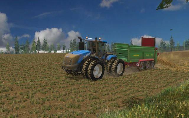 "Мод ""New Holland T9.450 v 2.0.0.0"" для Farming Simulator 2015"