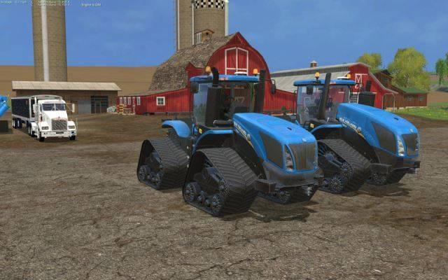"Мод ""New Holland T9.700 v 2.0.0.0"" для Farming Simulator 2015"
