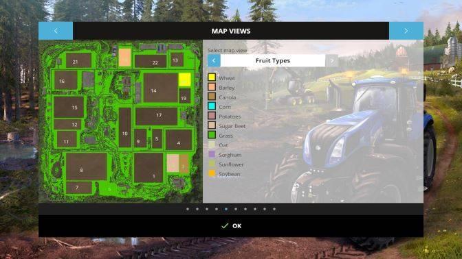 "Мод ""Карта Black Rock Valley v 4.0"" для Farming Simulator 2015"