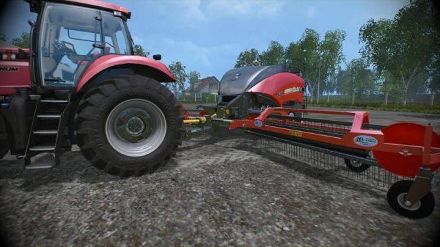 "Мод ""Case LB334 and Nadal R90 v 1.0"" для Farming Simulator 2015"