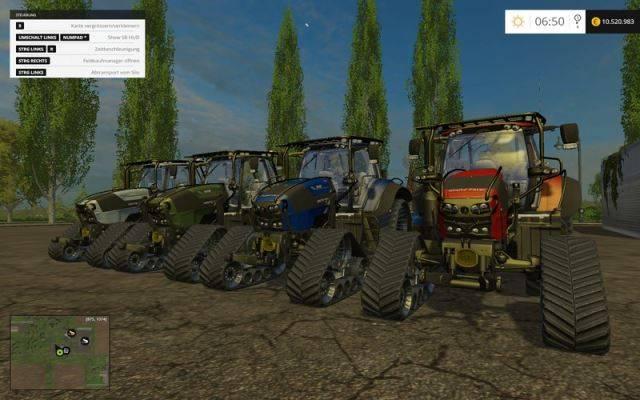 "Мод ""Mountain Goat II v 1.3.1 All In One Final"" для Farming Simulator 2015"