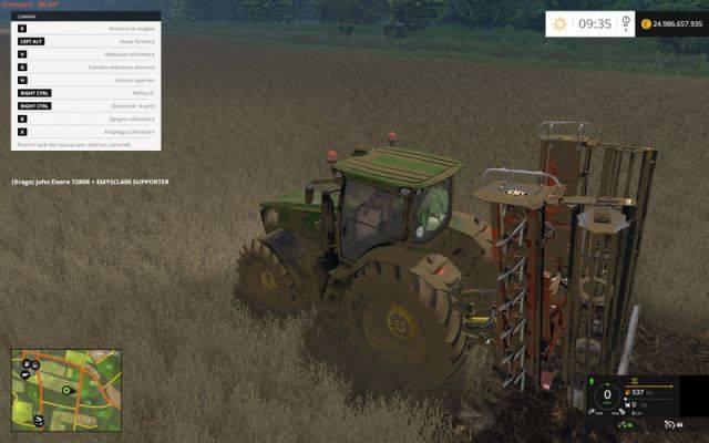 "Мод ""Emy SCP 600 v 2.2"" для Farming Simulator 2015"