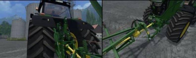 "Мод ""John Deere 6170R FL/ 6210R/6210R FL v 2.1"" для Farming Simulator 2015"