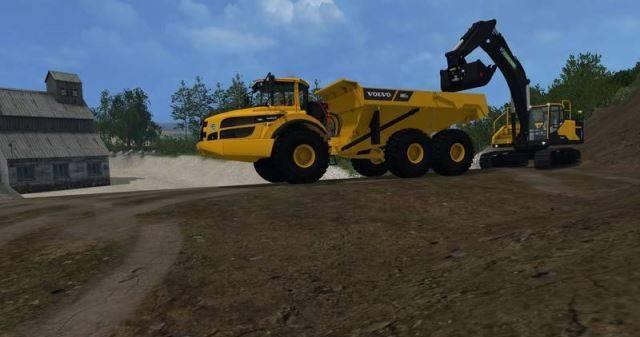 "Мод ""Volvo A40G v 2.0"" для Farming Simulator 2015"