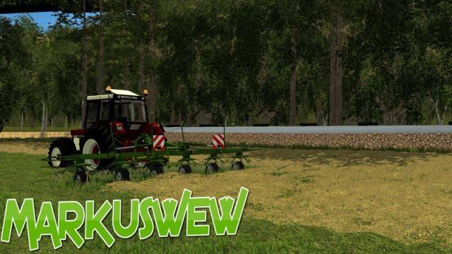 "Мод ""Krone Wender v 2.0"" для Farming Simulator 2015"
