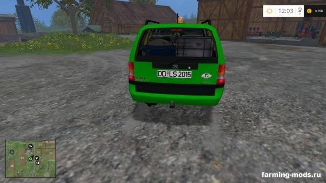 "Мод ""Opel Astra Caravan Deutz Fahr Service v 1.0"" для Farming Simulator 2015"