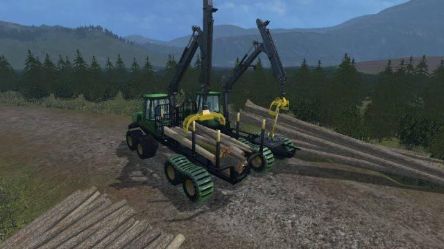 "Мод ""Forwarder Pack v 1.2"" для Farming Simulator 2015"