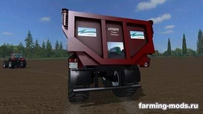 "Мод ""Krampe Dumper v 1.0 with Zingg Transporte logo"" для Farming Simulator 2015"