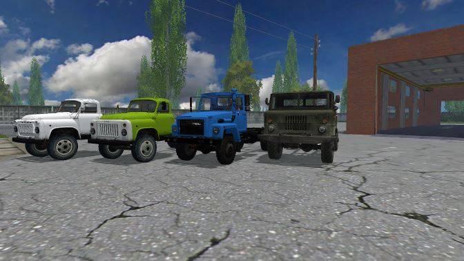"Мод ""ПАК Газ 53 v 4.0.1 MULTICOLOR"" для Farming Simulator 2015"